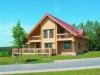 Log home in Germany - model ML200