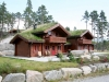 Massive log house from 152 mm logs