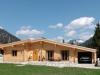 Log home in Austria - 134 mm laminated logs