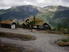 Traditional norwegian second home in Vradal - massive log house - 152 mm