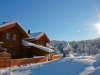 Traditional Norwegian log home - from 152 mm massive square logs