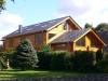 Villa in Germany - laminated logs